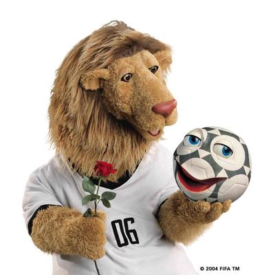 Resultado de imagen para lion germany fifa cup mascot