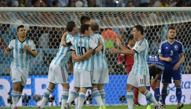 Resultado de imagen para argentina brasil 2014