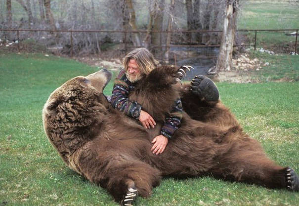 Bart The Bear And His Trainer Doug Seus