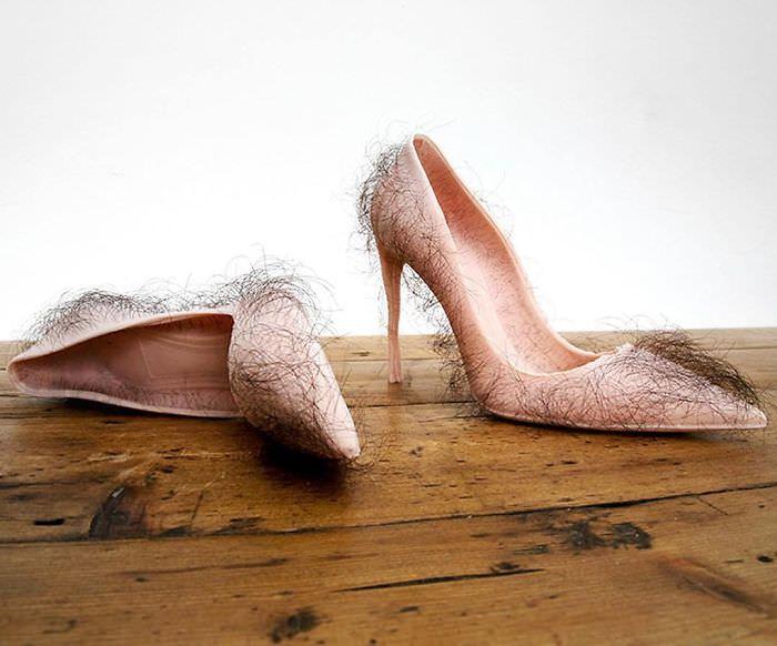 Estos son los 16 pares de zapatos más extraños del mundo 😳👠