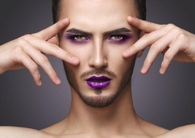 Resultado de imagen para boy de chanel makeup