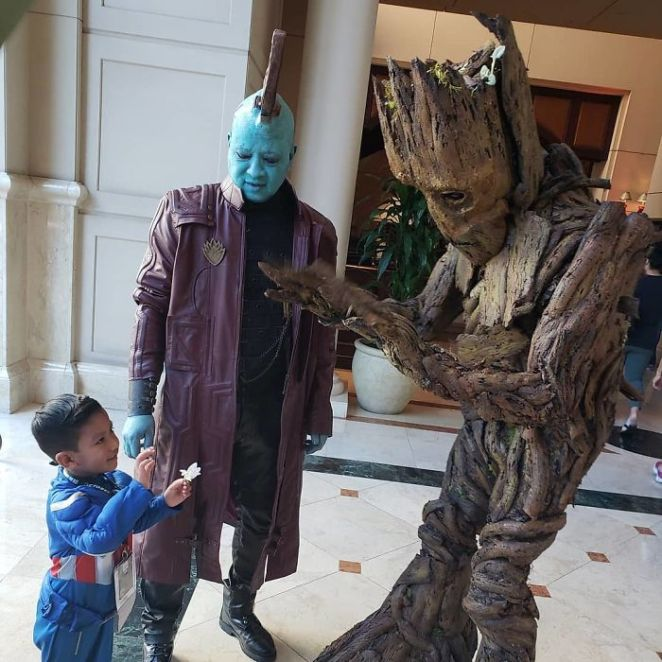 Yondu And Groot, Marvel