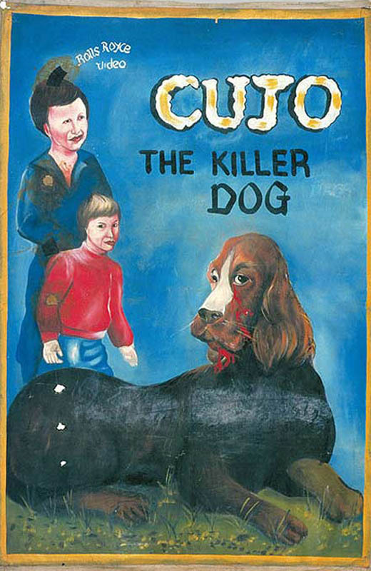 cujo Bootleg Movie Posters from Ghana