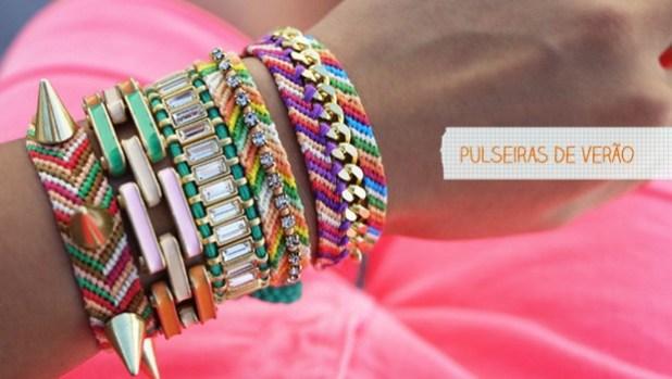 Aprenda a fazer pulseiras de verão
