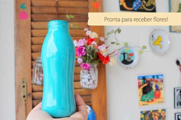 garrafa pintada