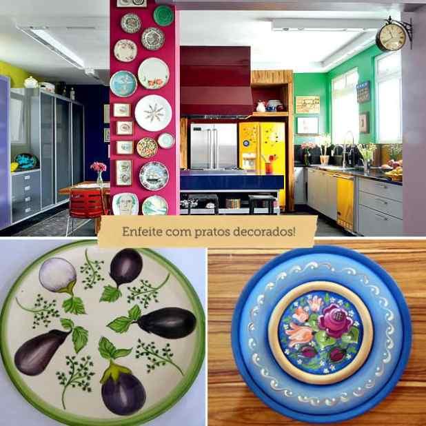 ideias criativas para decorar a cozinha