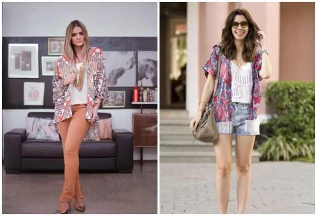 kimono na moda