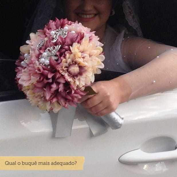 como escolher o buque de noiva