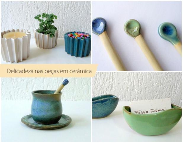 A cerâmica e o contato com os 4 elementos