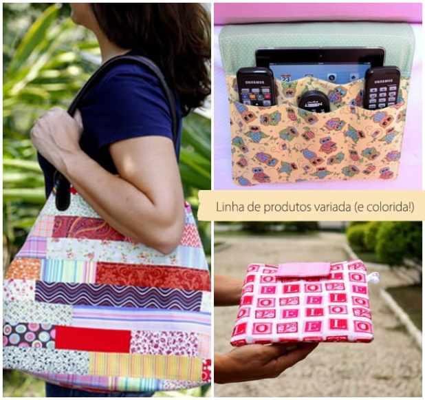 Lunch bags artesanais com pegada tropical