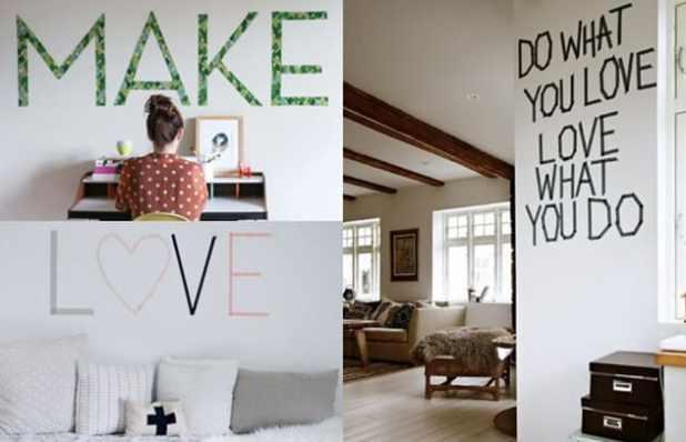 10 maneiras de usar fita adesiva para decorar a casa Blog do Elo7 -> Decorar Parede Com Fita Adesiva