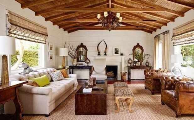 decoração com estilo colonial