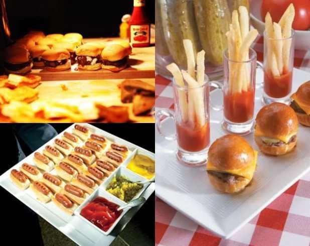 casamento inspirado em cidades - new york foods