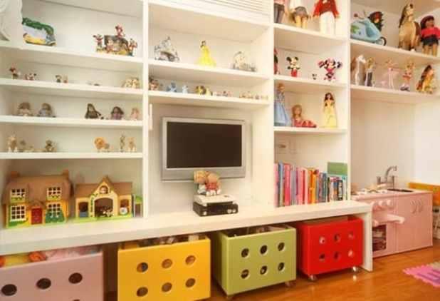 como organizar os brinquedos dicas