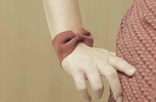 pulseira de couro