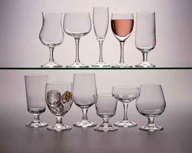 diferentes tipos de copos