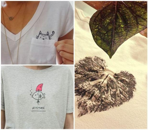 4136b479eb Como pintar camisetas  faça você mesmo - Blog do Elo7