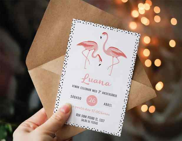 festa tropical flamingo