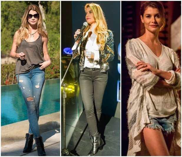 o estilo de Diana de Rock Story