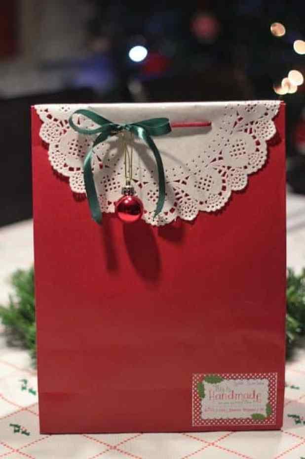 mais de 20 ideias de embalagens de presente de Natal