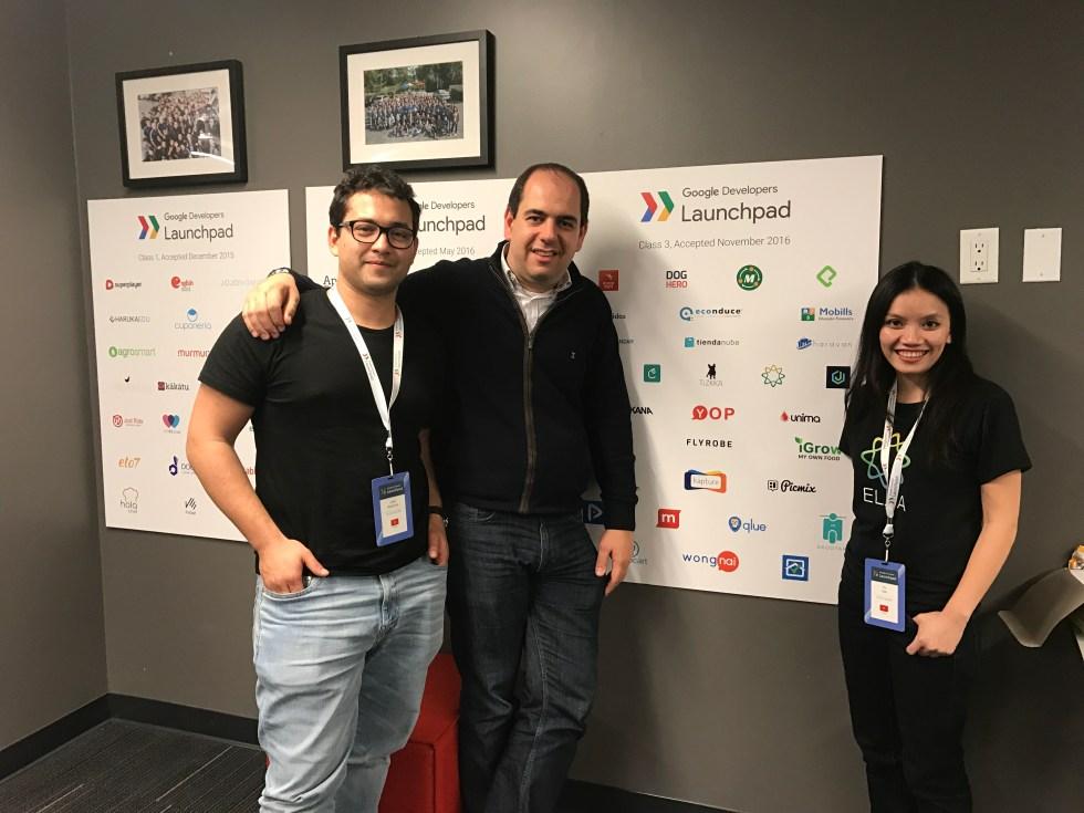 ELSA team at Google LaunchPad (San Francisco, 2017)