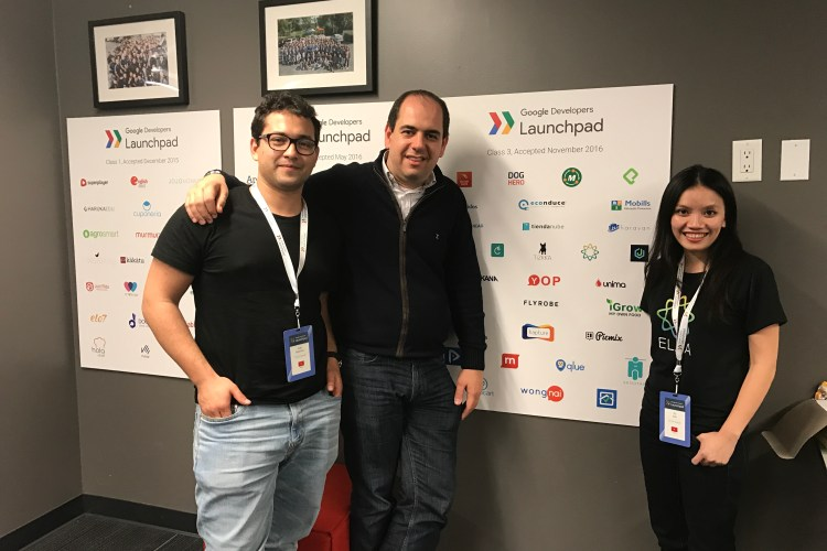 ELSA Team At Google LaunchPad (San Francisco, 2017)