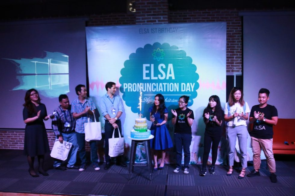 sinh nhật 1 tuổi của ELSA
