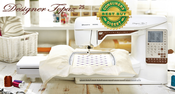 Viking Topaz 25 Embroidery Machine