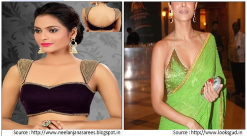 Front Bustier Neck Style