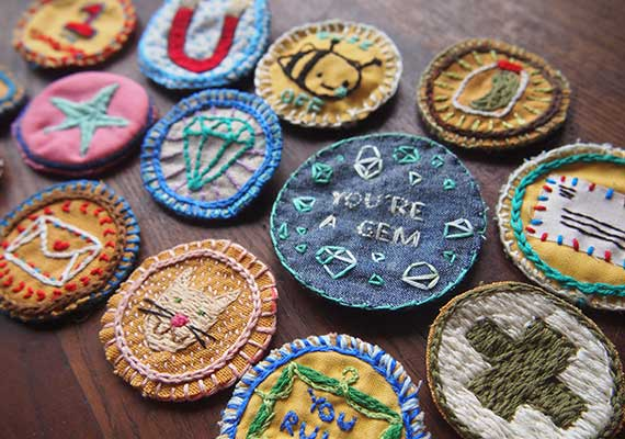 Order Custom Embroidery Badges Online