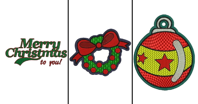 embroidery designs for christmas