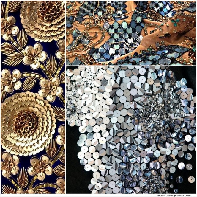 Sequin Embroidery Designs