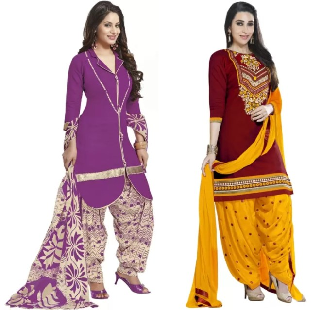 Fashion Punjabi Salwar Kameez Patiala Suit