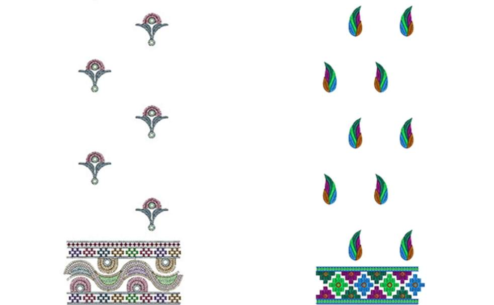 Phulkari Embroidery Designs