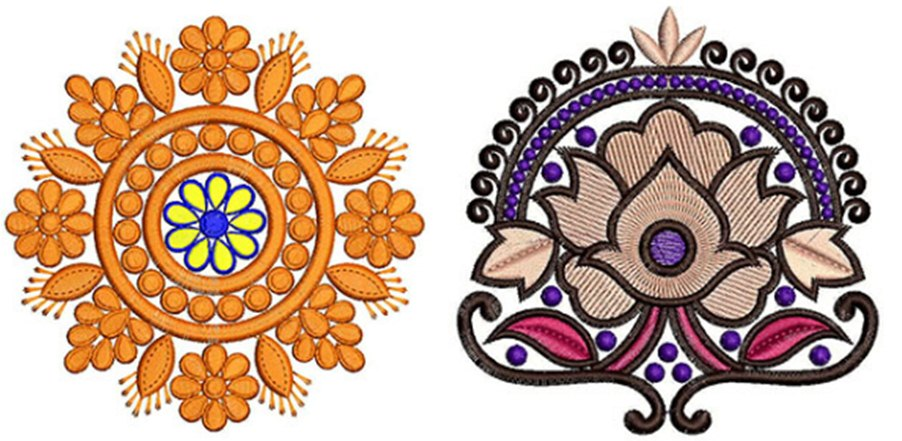 Best Flower Design For Embroidery