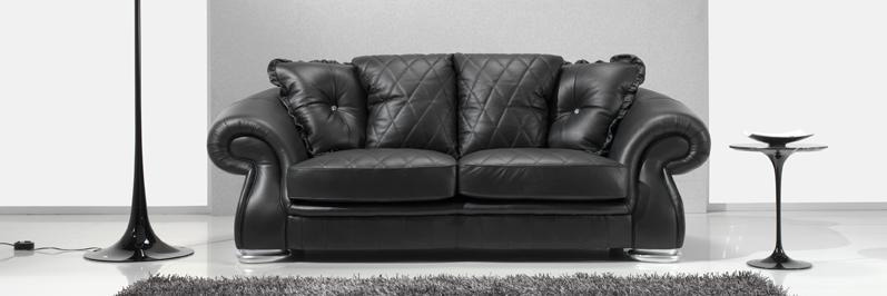 There are several different types of leather used in the making of furniture and the type used affects the look and feel of the piece. Italian Pendragon Leather sofa's   Em Italia Blog