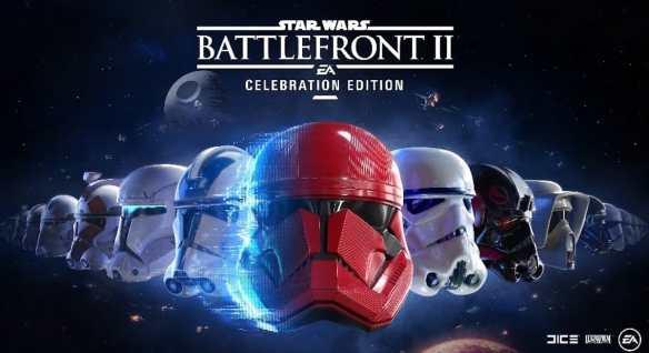 Digital erhältlich - die Celebration Edition zu Star Wars Battlefront II.