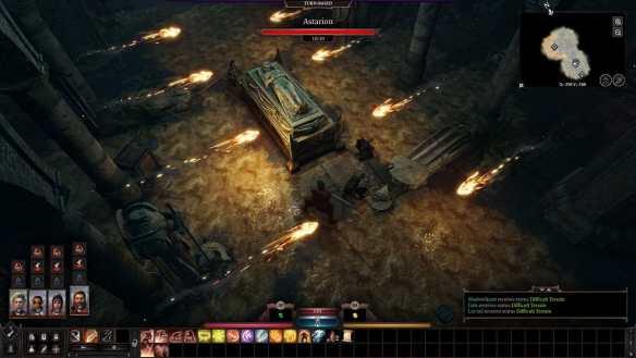 Die Kämpfe in Baldur's Gate 3 werden rundenbasiert.