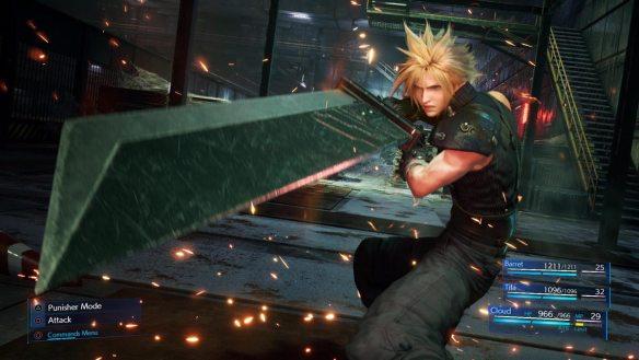 In Final Fantasy VII Remake begleiten wir Cloud Strife aus seiner Reise.