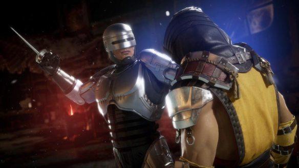RoboCop ist einer der neuen Kämpfer in Mortal Kombat 11: Aftermath.