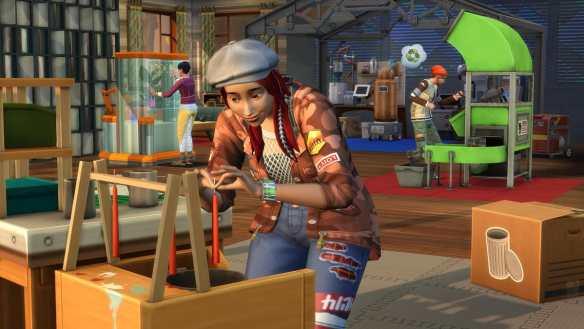 Die Sims 4 Nachhaltig leben ist ab sofort verfügbar.