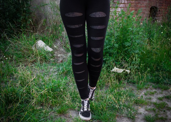 Mesh Underlayer Leggings von Forplay