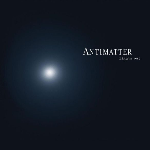 Antimatter - Cover
