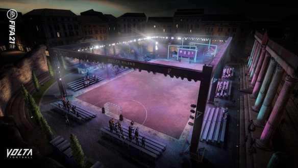 Der Volta-Modus lässt uns das Feeling von Straßenfußball erleben.