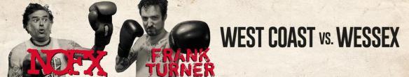 Das Album der Woche: NOFX / Frank Turner mit West Coast vs. Wessex