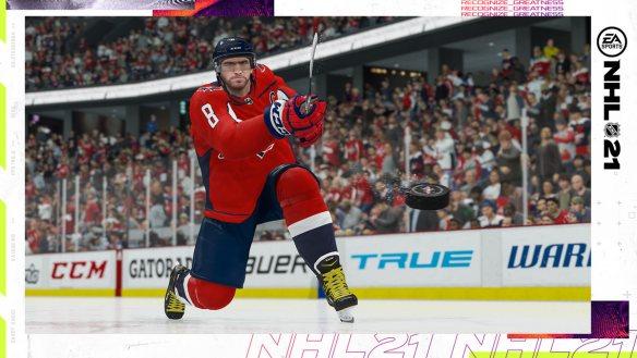 Alex Ovechkin ist zum zweiten Mal auf dem Cover von EA Sports NHL.