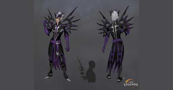Das Charakterdesign erinnert stark an den Nekromanten aus Diablo.