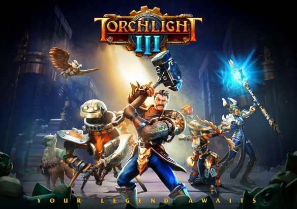 Torchlight III erscheint 2020 für PC und Konsolen.