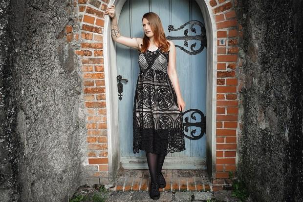 Einfach spitze – mein neues Häkelspitzen Kleid von Ocultica