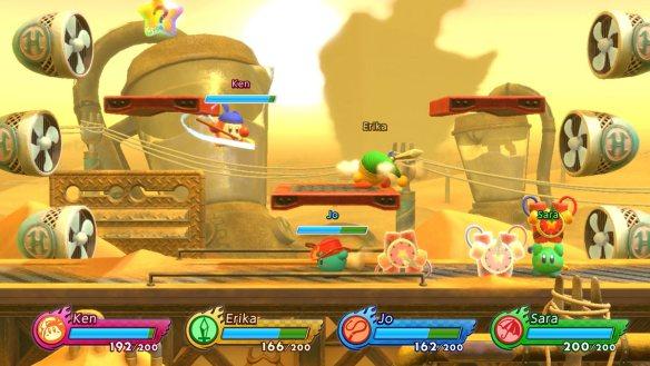 Die Verwandtschaft zu Super Smash Bros. ist unverkennlich.